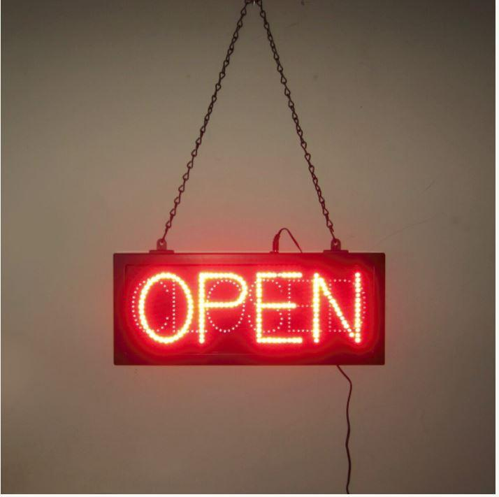 Neonetics Open And Closed Led Sign