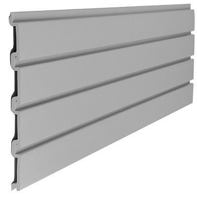 Suncast Storage Trends 4' Slat Wall Section - Grey
