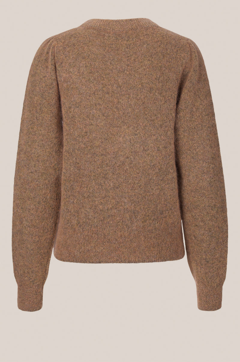 Brook Knit Volumen O-Neck