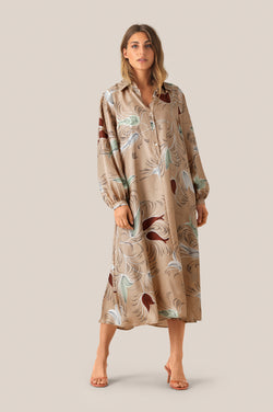Flow LS Dress