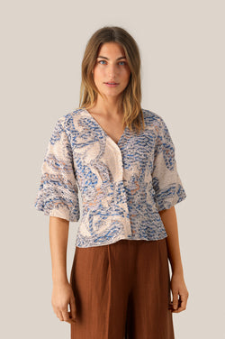 Delina SS Blouse