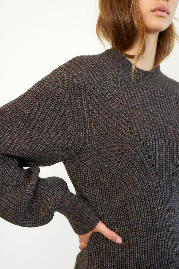 Blanche Knit O-Neck