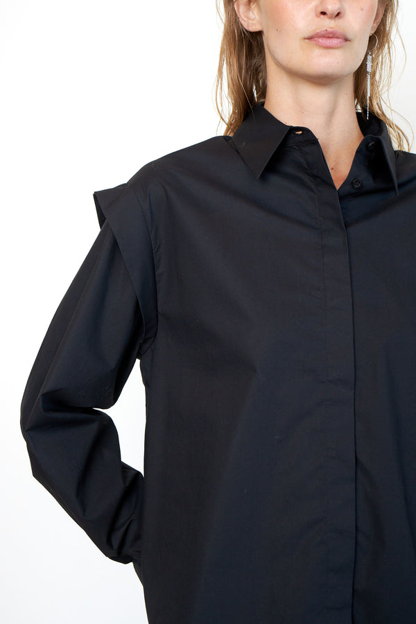 Larkin Wide Shoulder Shirt