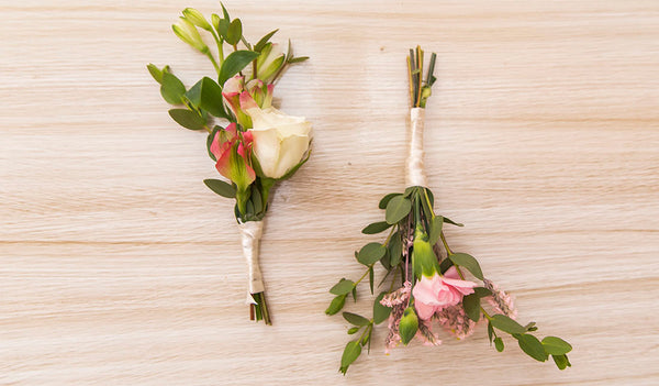 Styles of ribbons for your flowers