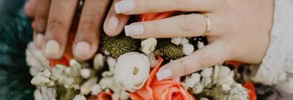 Don't forget to add some mojo to your wedding nails.