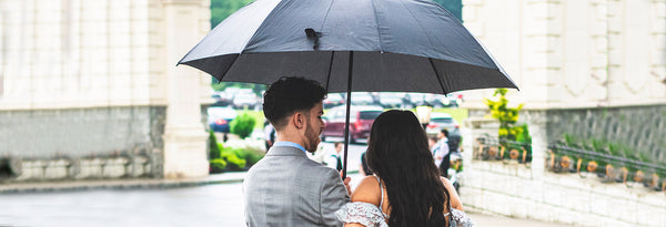 Rainy day at your wedding, learn why you should enjoy it