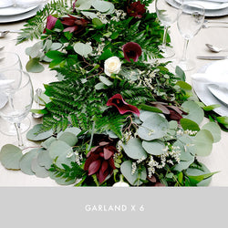 Garland x6 | Bordeaux