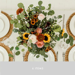 Centerpiece x6 | Autumn Sunrise