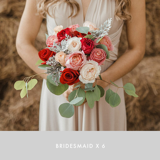 Bridesmaid x6 | Flame