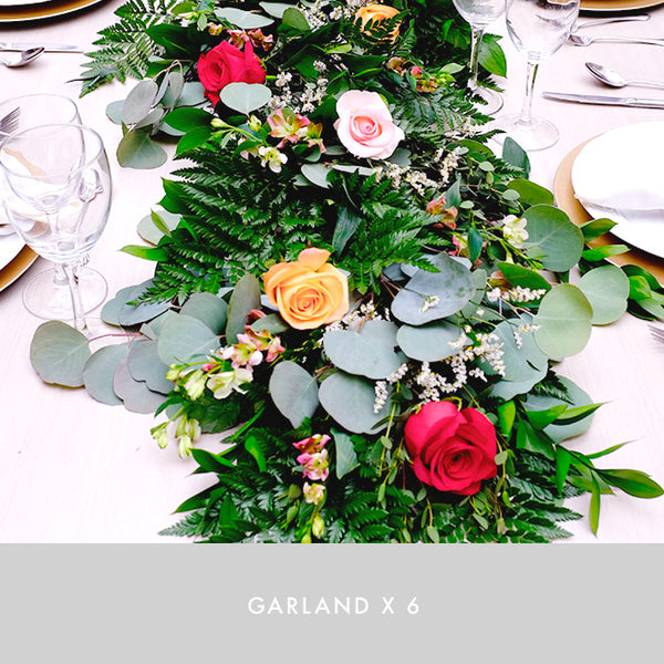Garland x6 | Flame | Intimate Size