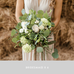 Bridesmaid x6 | Bohemian Green