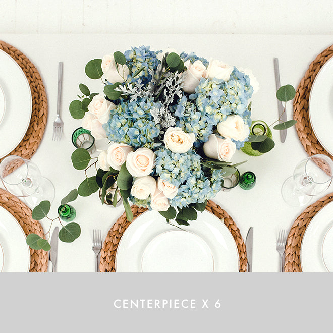 Centerpiece x6 | Seaside