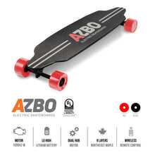 Load image into Gallery viewer, Electric Longboard Н6 with Remote Control