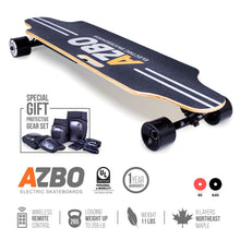 Load image into Gallery viewer, Electric Longboard C5 with Remote Control