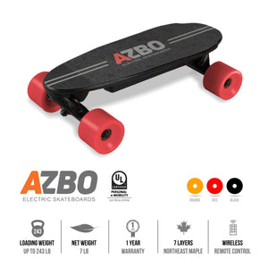 Portable Mini Electric Skateboard С9 with Remote Control