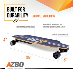 Electric Longboard C5 with Remote Control