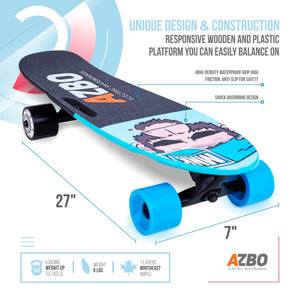 Electric Skateboard C4 with Remote Control