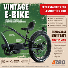 Load image into Gallery viewer, Vintage Electric Bike El Eagle - 48V, 500W Motor, 26 in. Tire, 20 MPH