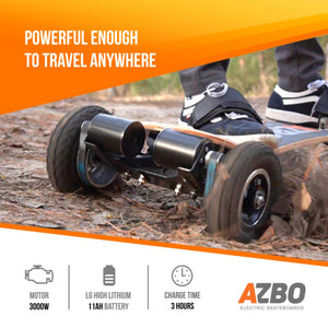 Off Road Electric Skateboard Y8 with Remote Control