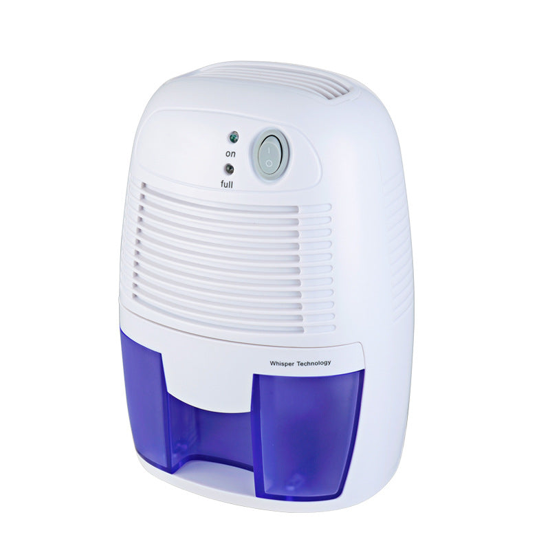 Electric Dehumidifiers for Home, 2200 Cubic Feet (205 sq ft) Portable and Compact 16 oz Capacity Quiet Dehumidifiers