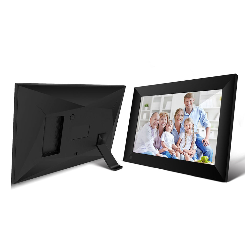 10.1 Inch WiFi Digital Photo Frame with IPS Full HD Touch Screen for Displaying Picture Instantly via Mobile APP