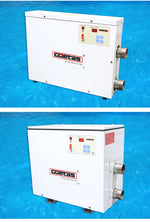 220V 15KW Water Heater Thermostat High Power Swimming Pool Thermostat SPA Bath Portable Pool Heater Electric Water Heater Thermostat Heater Pump