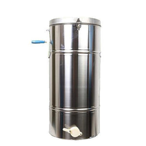 Stainless Steel  Honey Extractor Manual Honeycomb Spinner Crank Beekeeping Equipment with Filter