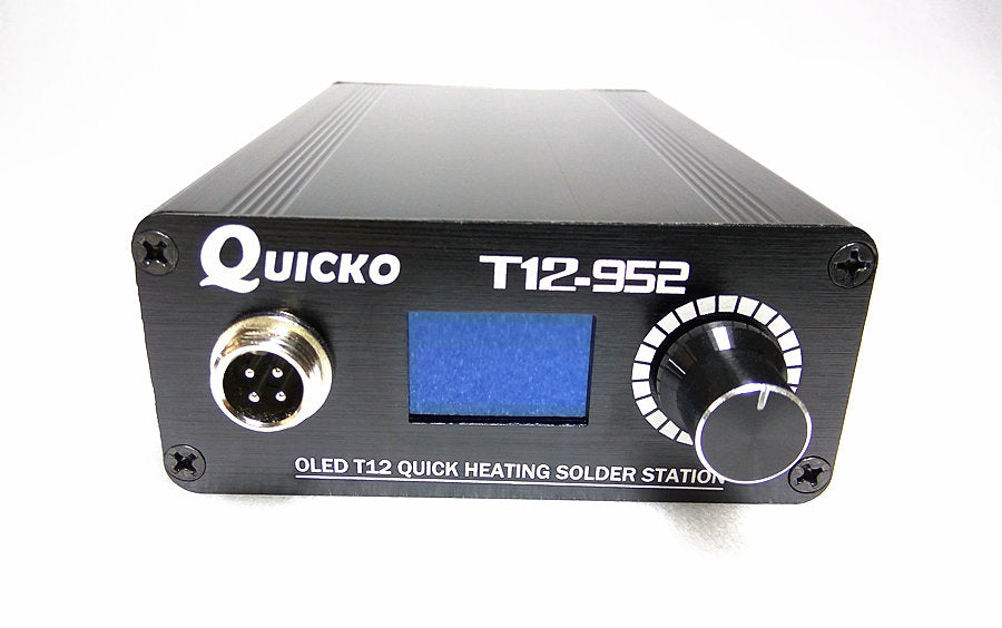 QUICKO QUT12-952 OLED Digital Soldering Iron Station with 9501 Handle