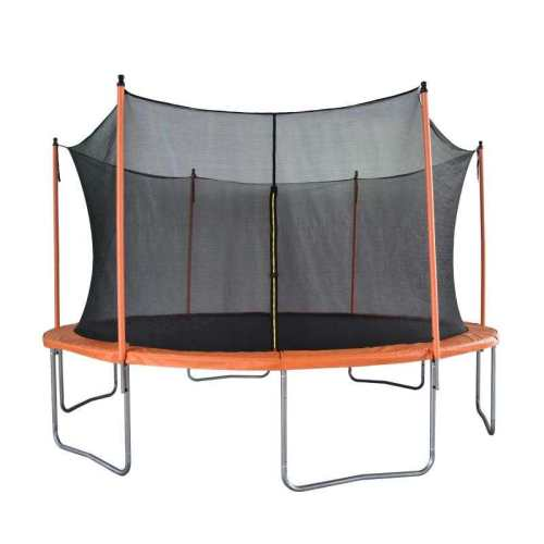 14 FT Trampoline for Kids Adults with Safety Enclosure Net Outdoor Indoor Trampoline, Weight Capacity 150 KG