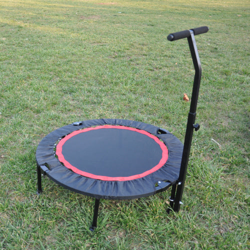 40 Inch Indoor Fitness Rebounder Trampoline Mini Exercise Trampoline with Safety Pad for Adults or Kids| Max. Load 300LBS