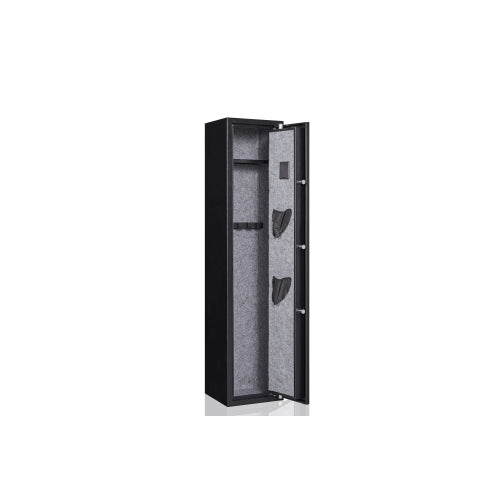 Digital Keyboard 4 Rifle Safes Gun Security Cabinet for Home Rifle Gun and Pistols