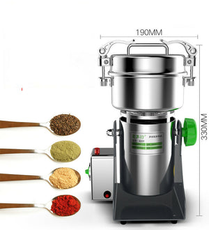 220V  Electric Grain Grinder Mill for Coffee Healthy Grains Gluten-Free Flours 2000g