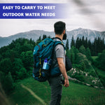 Outdoor Portable Water Purifier Camping Hiking Emergency Life Survival Portable Purifier Water Filter