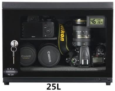 25L Camera Dry Cabinet E-Dry Box for Camera Lens Electronic Equipment Storage