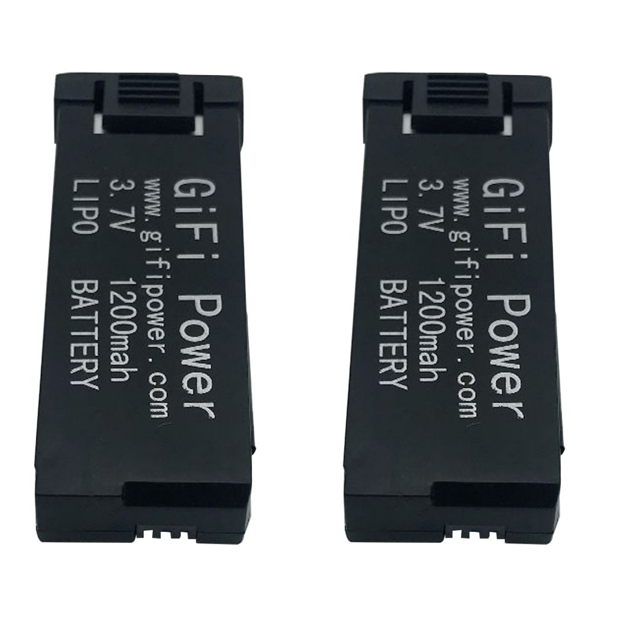 2 PACK 3.7V 1200mAh LiPo Batteries for Eachine E58 Drone