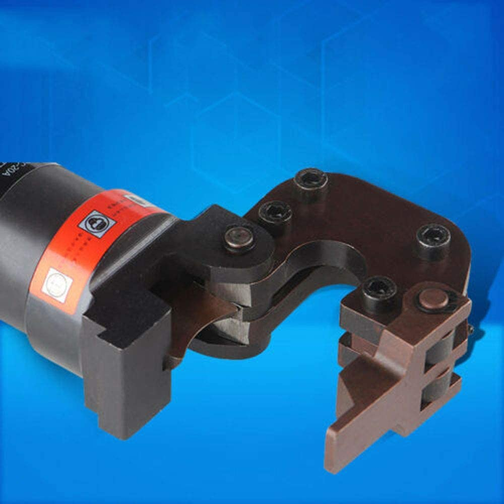 Hydraulic Cable Cutter 20mm(25/32 inch) ACSR Wire Shear Scissor Heavy Duty 6T for Steel Rope/Copper Wire/Aluminum Wire/Armour Cable