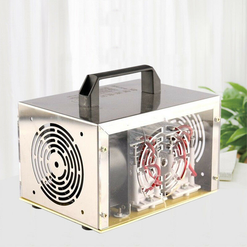 3500 mg/h Commercial  Ozone Generator Home Air Ionizers Deodorizer for Rooms Smoke Cars and Pets