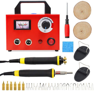 Wood Burning Kit  Pyrography Machine with Two Pen 100W 110V