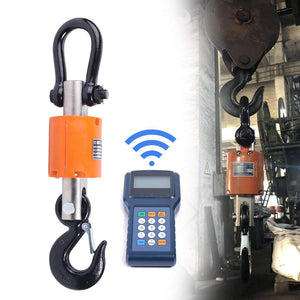 Wireless Digital Electronic Hanging Crane Scale With Handheld Meter