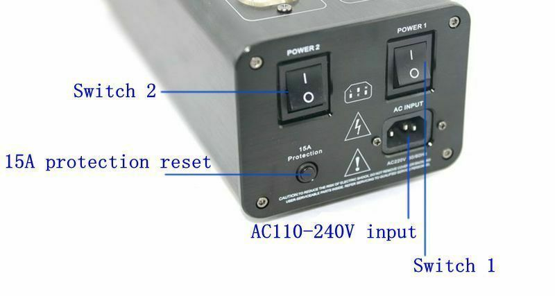 AC 8.8 3000W Hi-Fi Advanced Audio Power Conditioner Power Filter Purifier with Dual LED Display