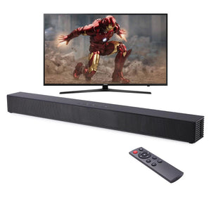 40W Home Theater Audio Sound Bar Wall-mounted TV Soundbar with Built-in Subwoofer for TV PC
