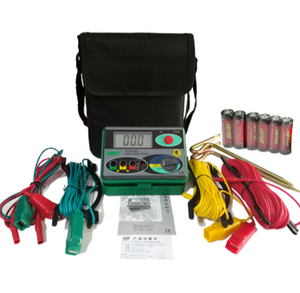 DY4100 Digital Earth Ground Resistance Tester High Accuracy Systems