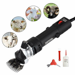Electric Sheep Shears with 6 Adjustable Speed for Sheep Animal Livestock