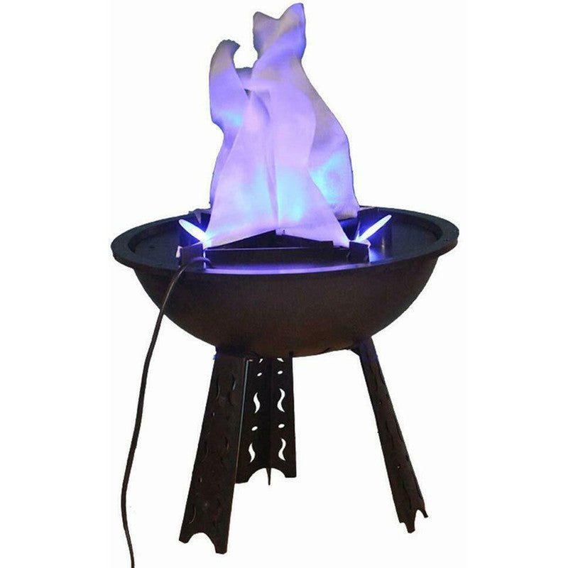 Halloween Electric LED Blue Flame 3D Fake Fire Lamp Eeffect Torch Light