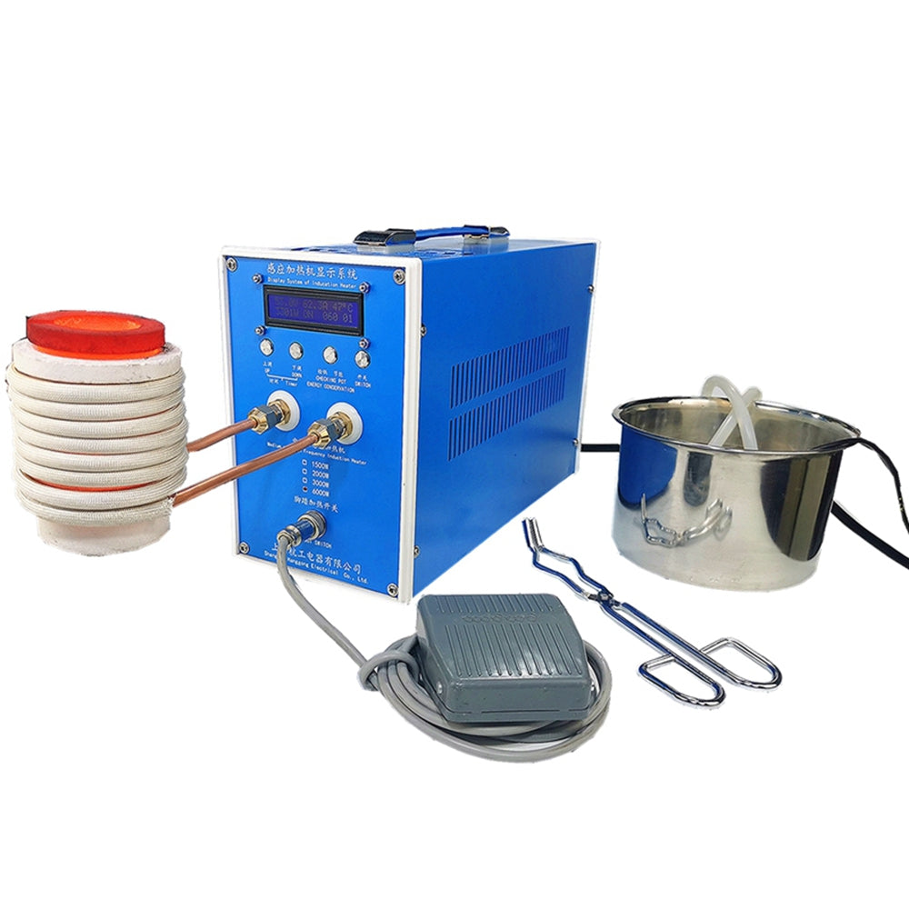 3000W High Frequency Welding Metal Quenching Equipment ZVS Induction Heater Induction Heating Machine Metal Smelting Furnace