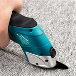 Cordless Electric Scissors with Long-Life Lithium Battery for  Cloth Leather Fabric