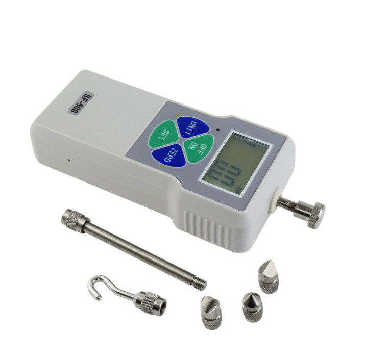 Digital Push Pull Force Gauge High Precision LCD Pressure Tester Meter SF-500 500N / 50Kg /110Lb