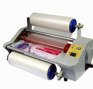 600W 350mm Hot&Cold Roll Laminating Machine Laminator