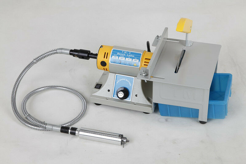 TM-2 Jewellery Polishing Machine Bench Lathe Polisher Machine Set for Jade Polishing
