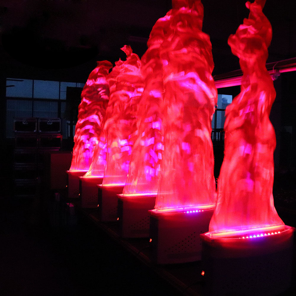 LED Simulated Flame Effect